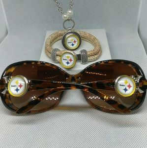 Accessories - Pittsburgh Steelers Sunglasses Set